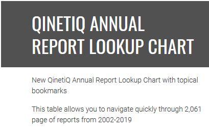 Qinetiq reports