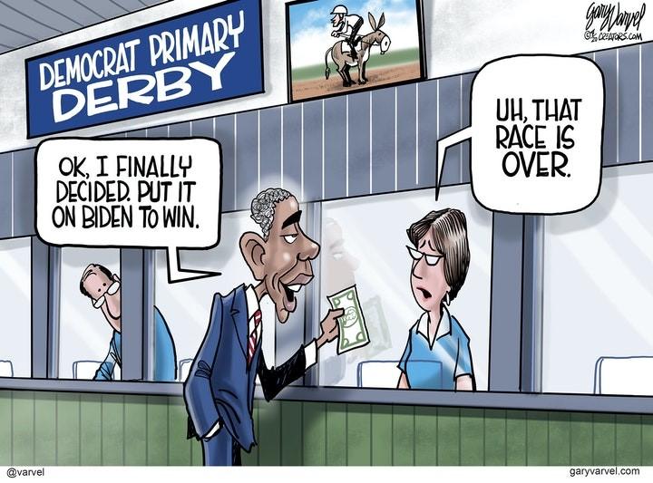 barack obama primary