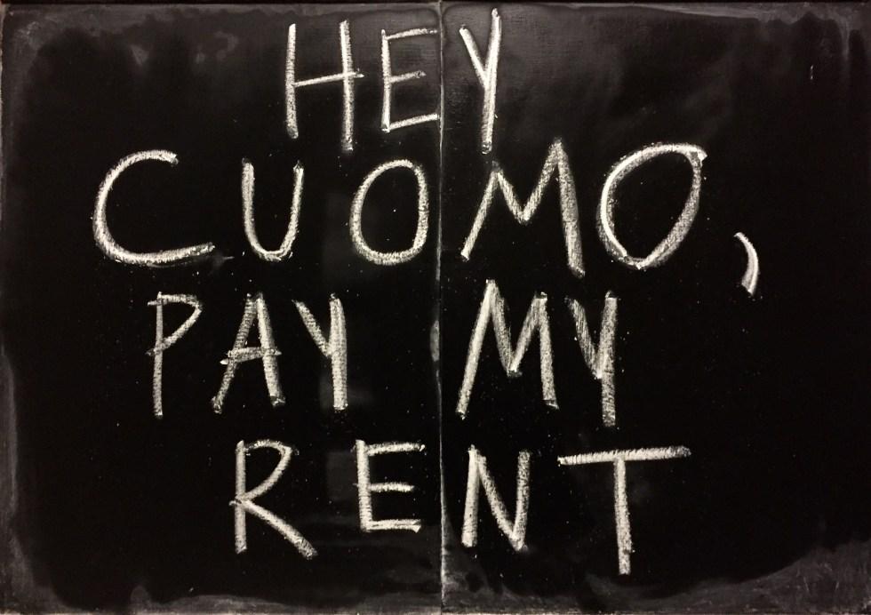 chalk pay rent