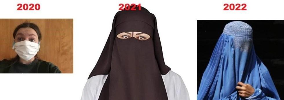 corona mask hijab