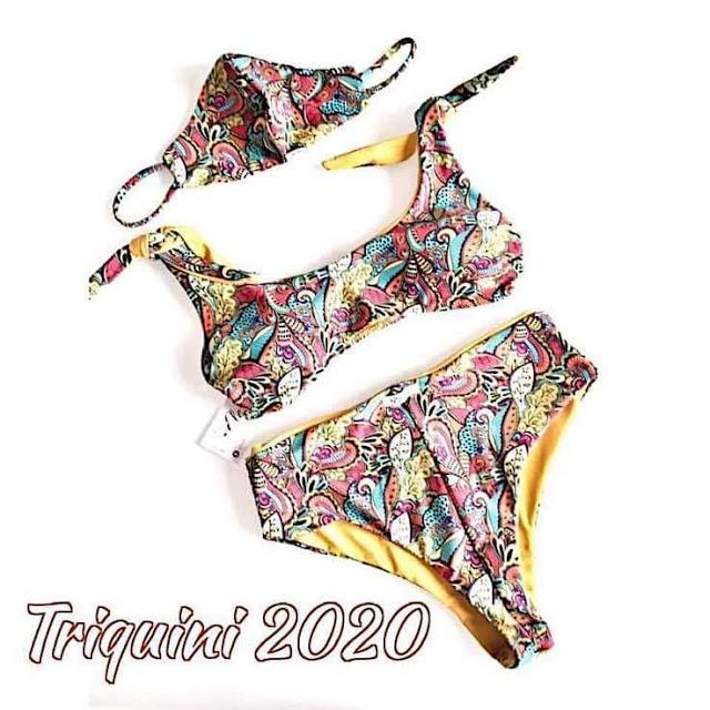 corona mask trikini
