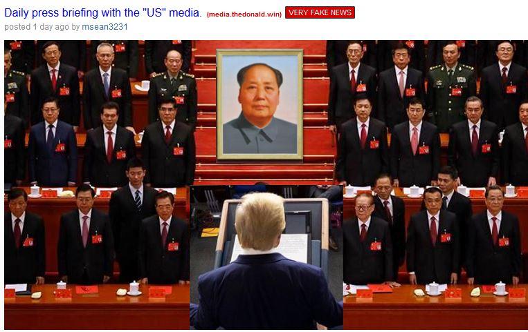 daily press briefing trump