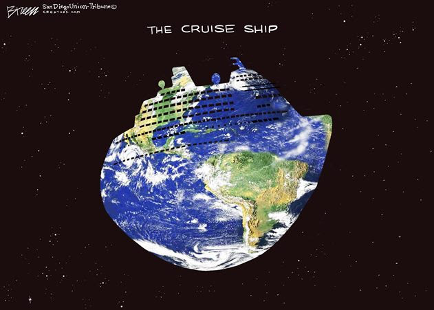 earth cruise ship