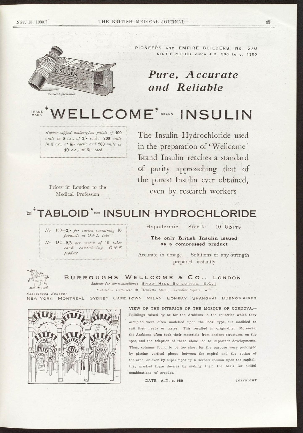 insulin wellcome
