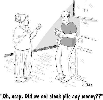 money stockpile