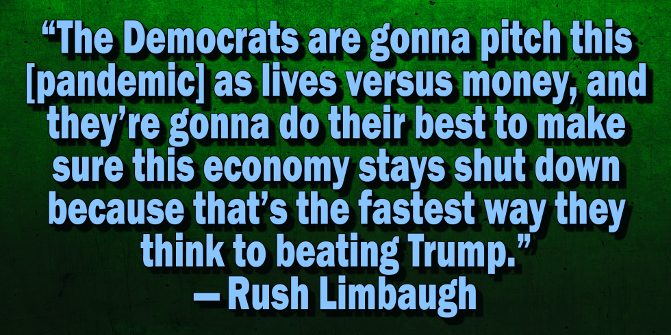 rush limbaugh economy