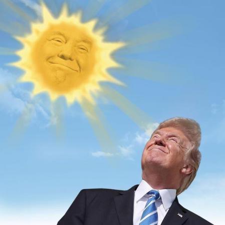 sunlight trump