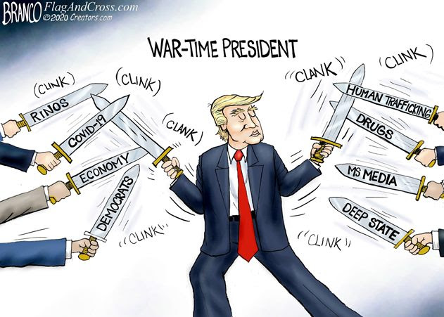 war time president branco