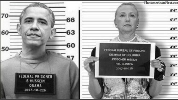 Barack Obama Hillary clinton booked