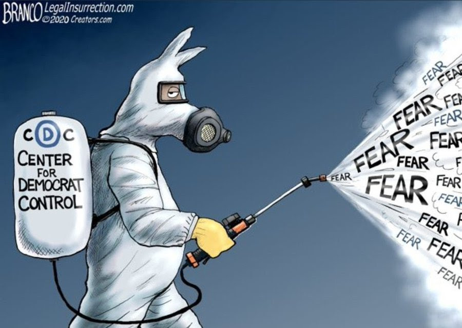 branco fear corona democrat cdc