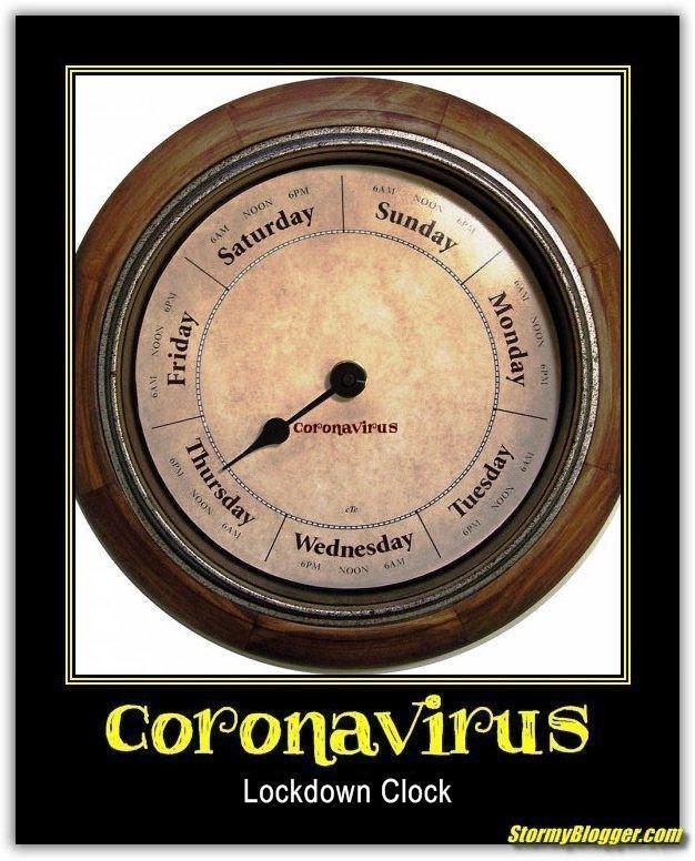 corona clock