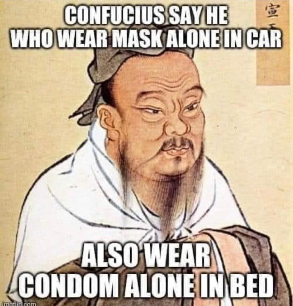 corona mask condom