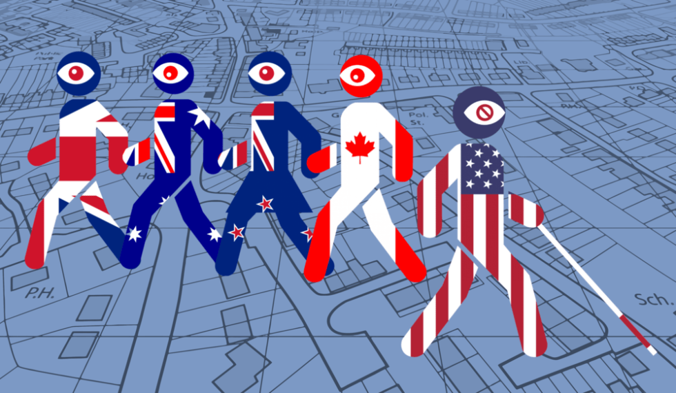 five eyes walk away