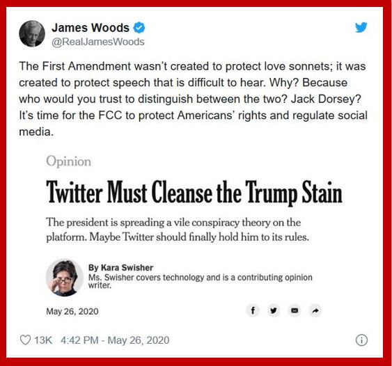 james wood first amendment