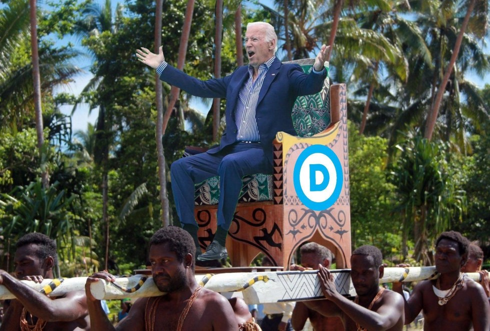 joe biden king blacks