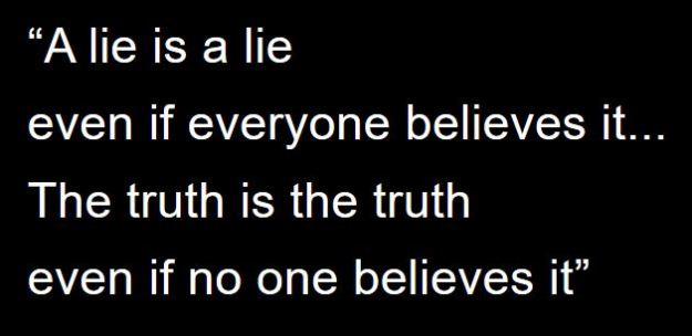 lie complicated by design