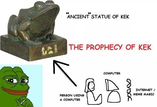 statue of kek