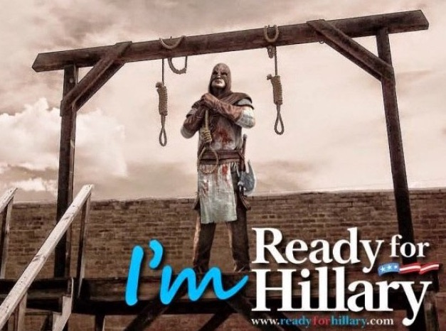 trump hillary clinton hangman