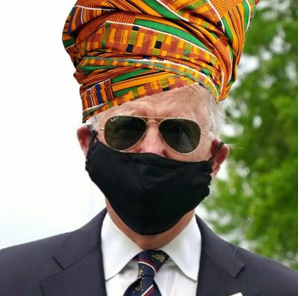 biden african mask