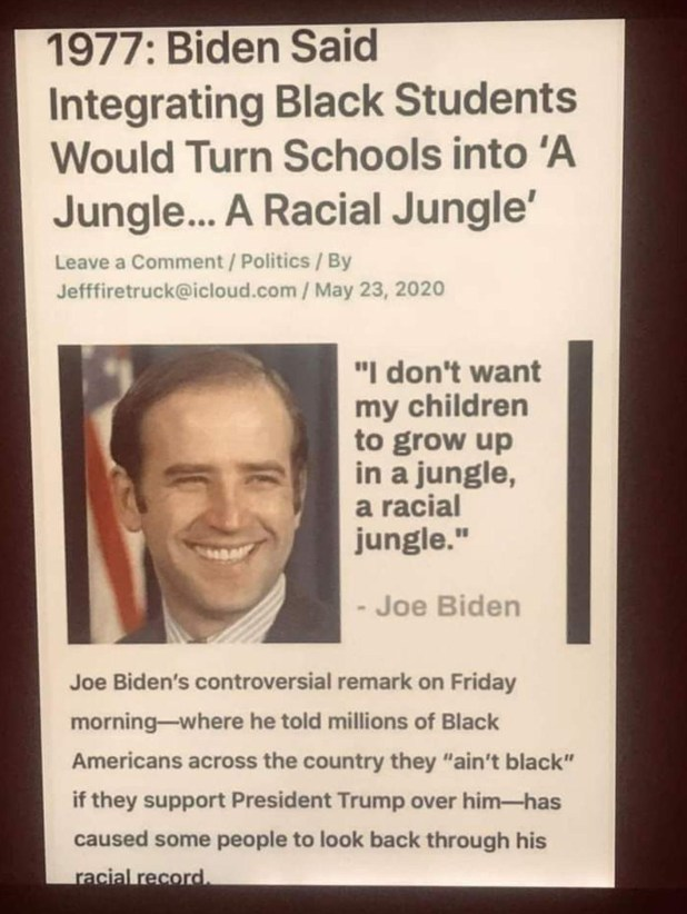 biden jungle