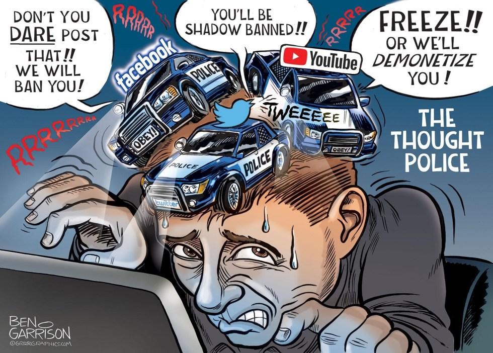 censorship facebook twitter garrison