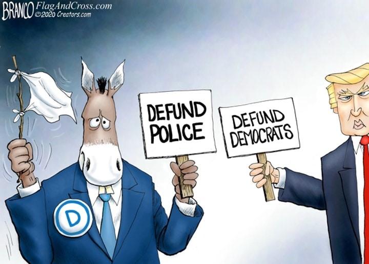 defund police democrats branco