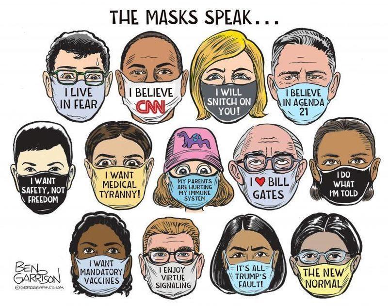 garrison masks corona