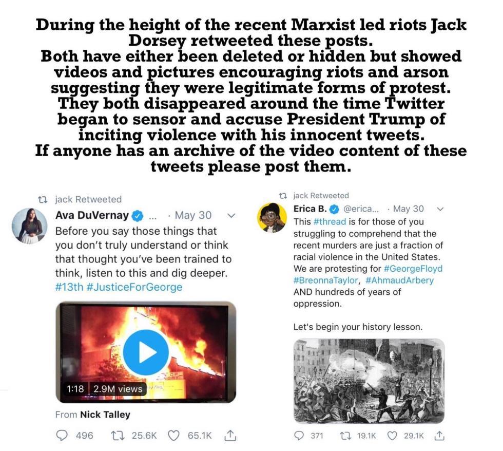 jack dorsey tweets