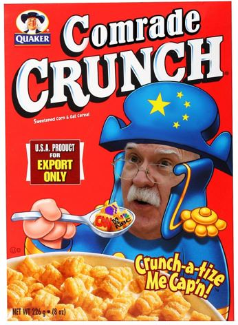 john bolton cereal