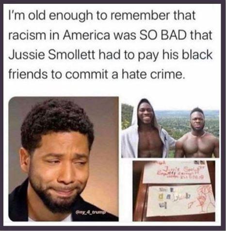 jussie smollett racism