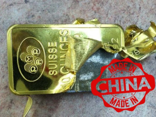 made in china gold
