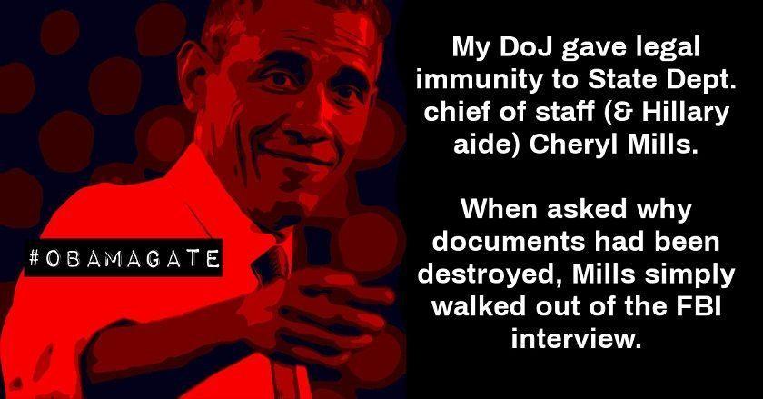 obama immunity