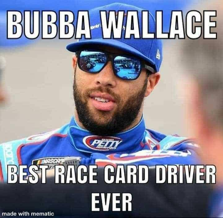 race card bubba wallace