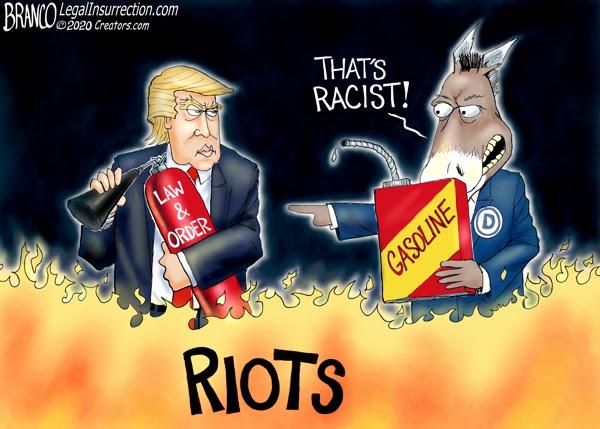 trump riots branco