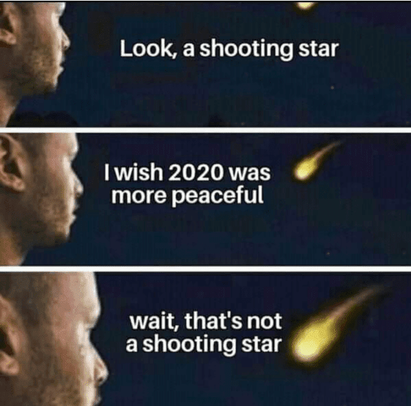 2020 shooting star