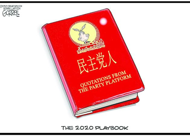 DNC play book china communist