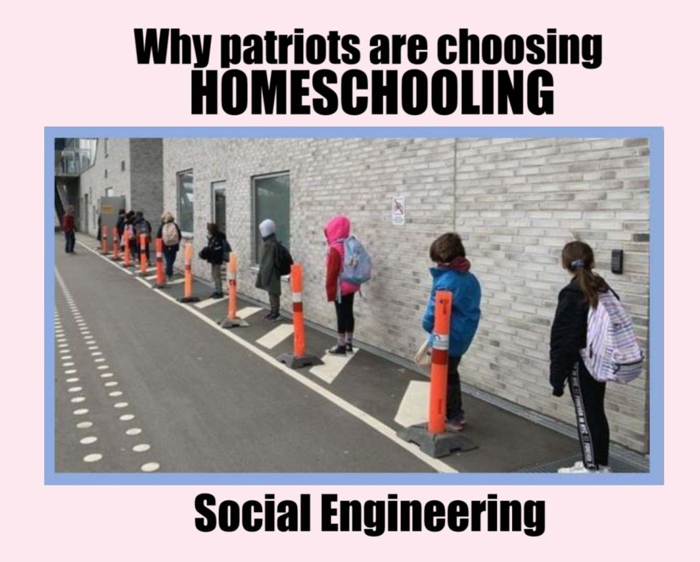Homeschooling social engineering