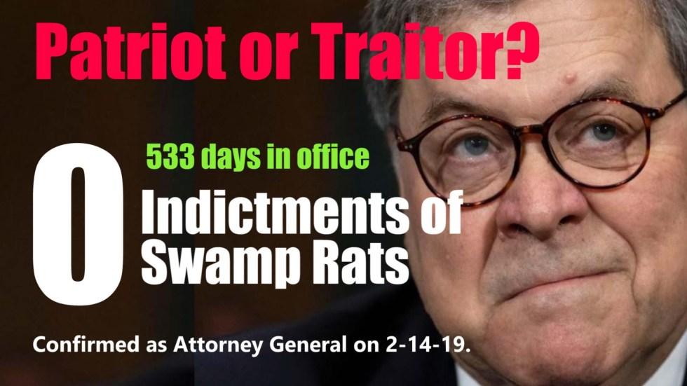 bill barr patriot traitor