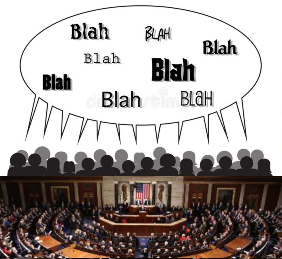 congress blah blah