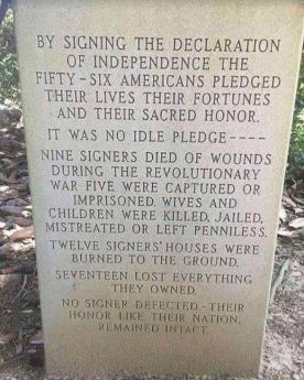 declaration stone