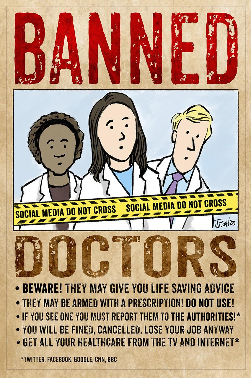 doctors banned social media