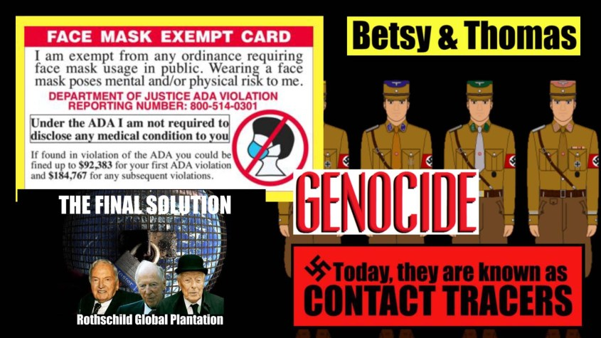 face mask genocide