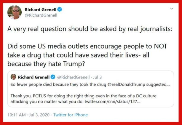fake news media grenell