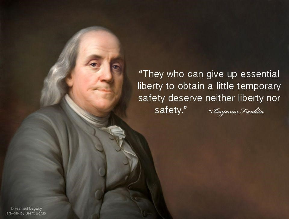 franklin on safety