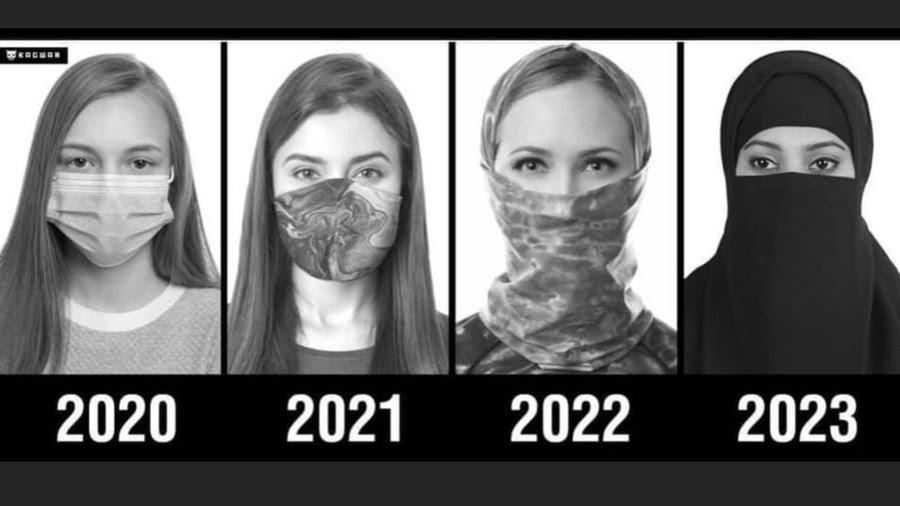 mask scarf burka