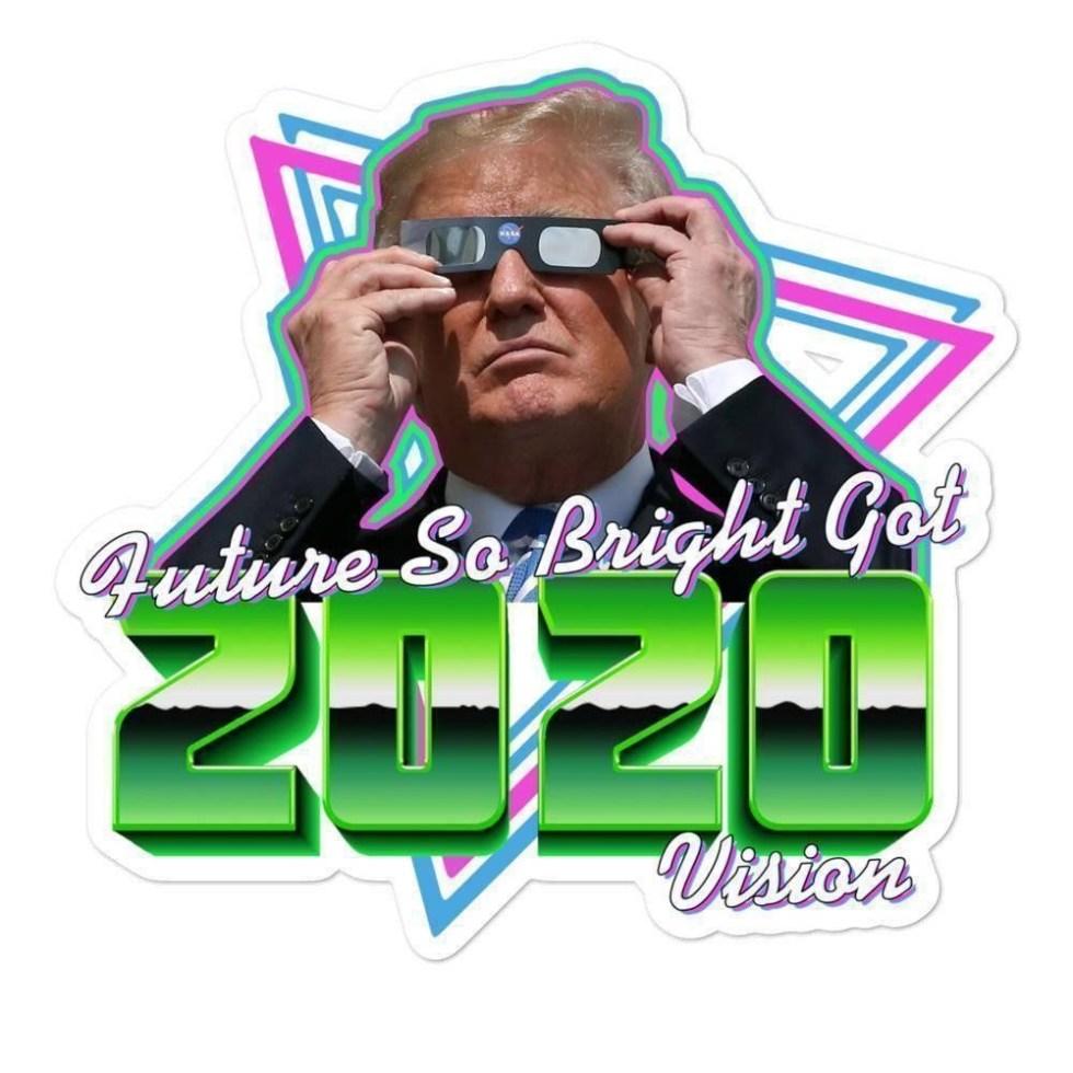 trump 2020 glasses