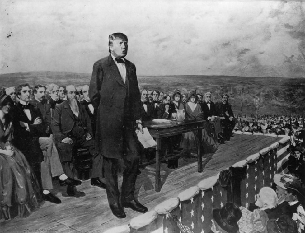 trump at gettysburg