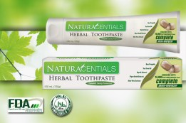 NaturaCentials Toothpaste