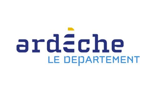 Logo et lien département Ardèche