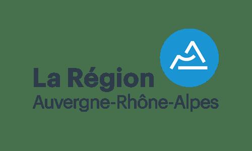 Logo et lien Région Auvergne-Rhône-Alpes